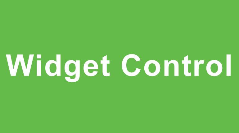 Widget Contro