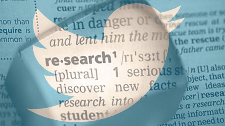 Twitter för research