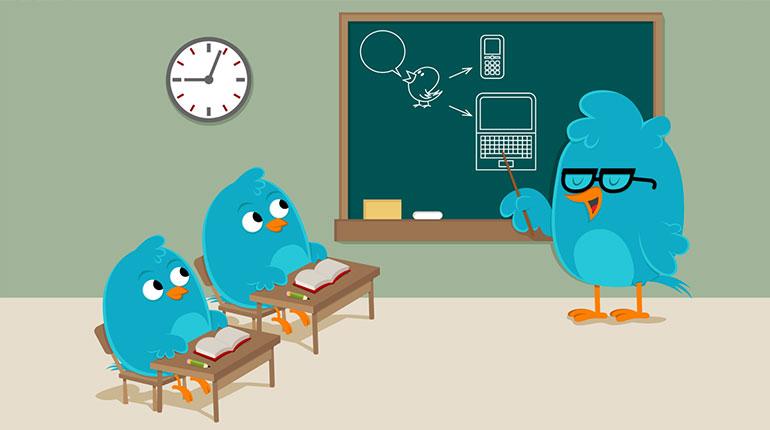 Twitter-skola