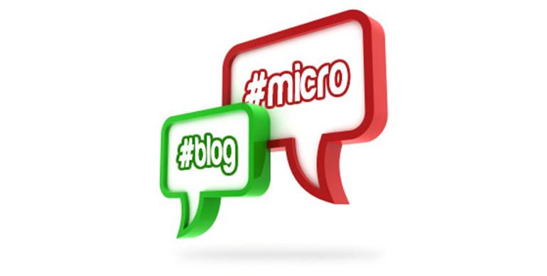 Mikrobloggande